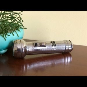 Vintage 60s flashlight